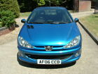 LARGER PHOTOS: sport car peugeot 206ccd convertible 2006 MILAGE 71,183