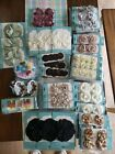 Jolees lot of 10 embellishments and floral scrapbooking stickers NO DUPLICATES