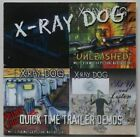 X-RAY DOG - Quick Time Trailer Demos CD