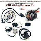 NEW ATV Wiring Harness Wire Loom CDI Electric Stator Kit for 150CC 200CC 250CC