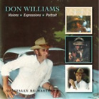 Don Williams-Visions/Expressions/Portrait CD NEW