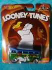 HOT WHEELS POP CULTURE LOONEY TUNES VOLKSWAGEN T1 DRAG BUS NEW FREE SHIPPING
