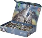 Kangaroo  Joey Jigsaw Puzzle 500 Piece Australian Flower Gift Wattle Native Tre