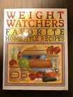 Vintage 1993 Weight Watchers Favorite Homestyle Recipes Cookbook