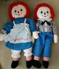 Classic Raggedy Andy Doll 29 2005 90th Anniversary with Tags Russ