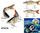 2 Pack New 2019 Lure Robotic Swimming Free Shipping USA STOCK