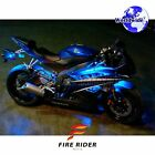 For Husaberg FS570 4 Pcs RGB Light Strips 190mm Bendable Fairing Frame Design
