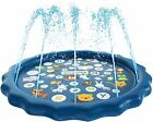 Splash Pad 3 in 1 Sprinkler pool for wading for Babies Toddler Learning ABCs