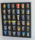 Shot Glass Display Case Rack Wall Shelves Shadow box No Door MH37