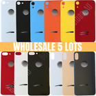 5 Lot For iPhone 8 X XR XS Max Rear Back Door Glass Housing Replacement Big Hole