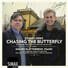 Edvard Grieg Chasing the Butterfly CD NEW