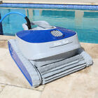 Robotic Pool Cleaner with Control Boxtra Efficient Dual Scrubbing Brushes