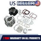 Cylinder Head Piston Engine Rebuild Kit For Honda ATC70 CRF70 CT70 TRX70 70CC US