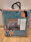 VERA BRADLEY GO FISH Quilt TWIN size  Teal New in the package  beachy