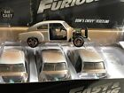LOT 4 JADA FAST AND FURIOUS DOMS CHEVY FLEETLINE 124 FOUR CARS IN A BOX
