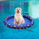BE Pet Swimming Bed Pool Float Dog Water Raft Bath Bed Swimming Laps Inflatable