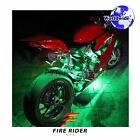 For Cagiva Raptor 6 Pcs RGB Light Strips 290mm Bendable Fairing Frame Design