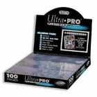Ultra Pro 9-Pocket Trading Card Pages - Platinum Series (100 Pages) New 81320