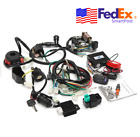 Wiring Cable Harness CDI Kit + Remote Start Switch 50cc 125cc ATV Scooter Bike
