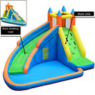 Inflatable Water Slide Kids Bounce House Castle Splash Water Pool Without Blower
