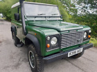 LARGER PHOTOS: Land Rover Defender 90 300 Tdi  1997   Replacement chassis in 2018  Long MOT