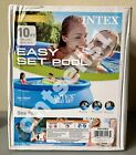 New Intex 10ft X 30in Easy Set Above Ground Swimming Pool No Pump Ships Now