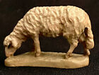 MINT ANRI KARL KUOLT 3 NATIVITY SHEEP GRAZING ITALIAN HAND CARVED FIGURINE
