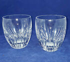 Beautiful Baccarat Massena 10 Oz Flat Tumbler Set of 2