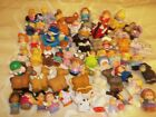60 Mattel Fisher Price Little People Chunky People And Animals Lot Free Shipping