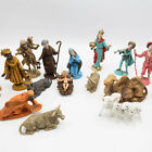 Vintage Christmas NATIVITY SET 18 Piece Set Made in Italy Jesus Mary Joseph