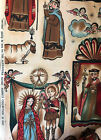 OOP Navidad Alexander Henry Mexican Nativity Religious Christmas Fabric BTY