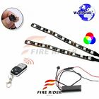 For Husaberg FE501 2 Pcs RGB Light Strips 145mm Bendable Fairing Frame Design