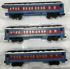 Lionel O Gauge Polar Express Coach Observation Cars 3 Puppet Snow 6 84328 Read