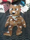 a Ty Beanie Baby Smoothie Bear Born June 13, 2009  NWT Walgreen's Hershey's Kiss