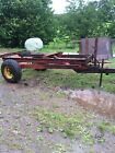 3 Ton Tipping Trailer Chassis Trailer Axle