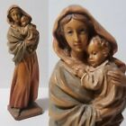 ANRI Madonna Streets Mary Jesus Child Carved Wood Sculpture Italy Figurine Saint