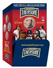 2018 Baseball Treasure Coins 36 packs - gravity Feed Box New Unopened