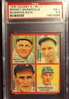1935 Goudey 4-in-1 Babe Ruth #3A PSA-3.5