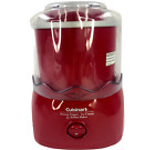 Cuisinart ICE 21 Frozen Yogurt Sorbet and Ice Cream Maker Red Complete