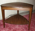 Vintage Mid Century Modern MCM Mersman Side End Table 31 5 Triangle Guitar Pick