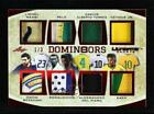 2019 Leaf Ultimate Sports Domin8ors Relics Red 3 Pele Lionel Messi Kaká Auto