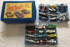 VINTAGE 24 HOTWHEELS MATCHBOX  More Car Collection And Tara Toy 24 CAR CASE