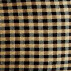NEW Longaberger KHAKI CHECK Fabric LINER for SMALL GATEHOUSE Basket- in Orig Bag