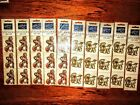 LOT of 10 RARE Lang Card Company STICKER PACKS Baby Carriage  Toys Free Ship