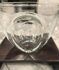 Hennessy Cognac Heavy Glass Etched Ice Bucket Unused In Pristine Condition