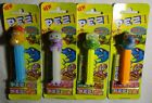 PEZ Very rare CRAZY ANIMALS Import Complete Set of 4 MOC HTF Free Shipping!
