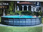 Intex 24 x 52 Ultra XTR Frame Round Swimming Pool Set with Sand Filter Pump