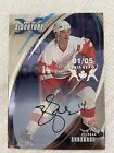 2002 03 In The Game Signature Fall Expo 01 05 Brendan Shanahan Auto. Red Wings