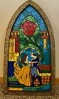 Beauty And The Beast Stained Glass Window Frame Exclusive To New Fantasyland