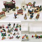 Lemax Santas Workbench Winter Christmas Village Accessory Figurine Lot of 40